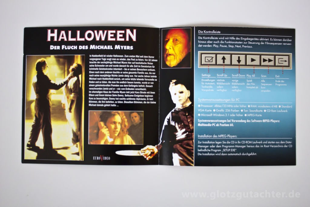 Halloween 6 VCD inlay