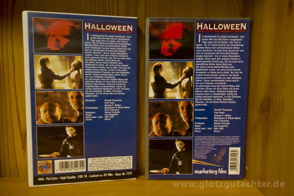 Rückseite Helloween 6 VHS