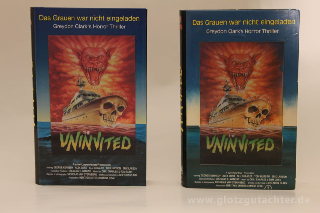 uninvited hartbox vhs cmv-1