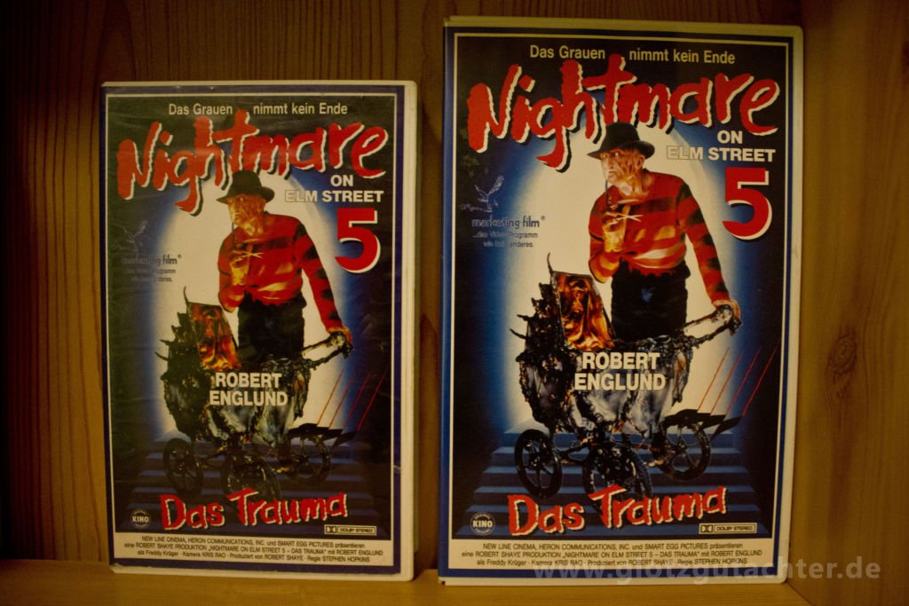 Nightmare on ElmStreet 5 Marketing VHS Vorderseite Front