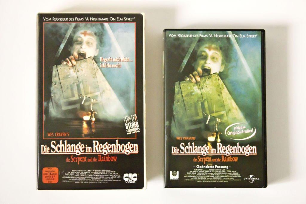 Schlange im Regenbogen VHS 2