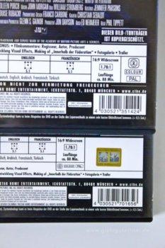 Starship Troopers 2 dvd Rückseite detail