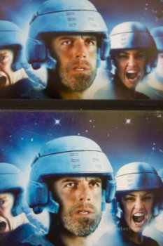 Starship Troopers 2 dvd front detail