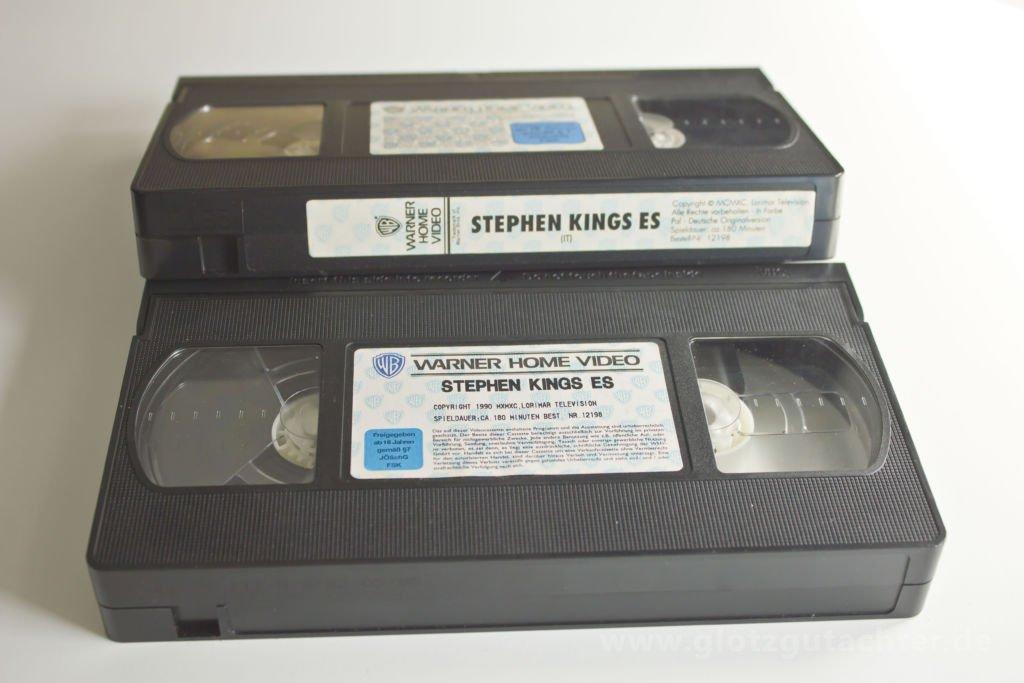 stephen King ES VHS Tape